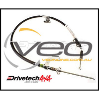 DRIVETECH 4X4 REAR RIGHT HAND BRAKE CABLE FITS TOYOTA HILUX GGN25 4WD 2/05-6/09