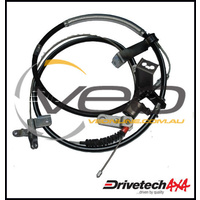 DRIVETECH 4X4 REAR HAND BRAKE CABLE FITS TOYOTA LANDCRUISER VDJ79R V8  3/07-ON