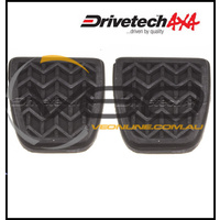 DRIVETECH BRAKE & CLUTCH PEDAL PADS (MANUAL) FITS TOYOTA RAV4 ACA23 8/03-10/05