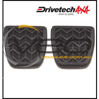 DRIVETECH BRAKE & CLUTCH PEDAL PADS (MANUAL) FITS TOYOTA HILUX GGN25 2/05-6/15
