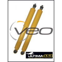 FORD BRONCO 4WD 80-89 FRONT OF FRONT HEAVY DUTY NITRO GAS ULTIMA SHOCKS