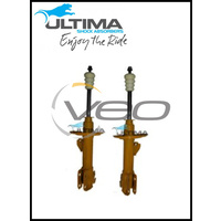 FRONT NITRO GAS ULTIMA STRUTS (PAIR) FITS TOYOTA YARIS NCP90R 11/05-10/11
