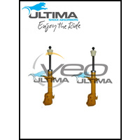 FRONT NITRO GAS ULTIMA STRUTS (PAIR) FITS TOYOTA ECHO NCP10R 10/99-10/05