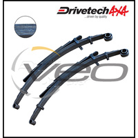 "HOLDEN RODEO RA 2.4L 3/03-6/08 DRIVETECH 4X4 REAR 2"" RAISED LEAF SPRINGS"