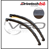 "DRIVETECH 4X4 FRONT 2"" RAISED LEAF SPRINGS FITS TOYOTA LANDCRUISER FJ75R"