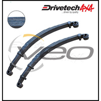 "DRIVETECH 4X4 FRONT 2"" HD RAISED LEAF SPRINGS FITS TOYOTA LANDCRUISER HJ75R"