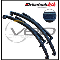 "DRIVETECH 4X4 REAR 2"" HD RAISED LEAF SPRINGS (PAIR) FITS TOYOTA HILUX RN105 8/88-7/97"
