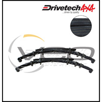 "DRIVETECH 4X4 REAR 2"" HD RAISED LEAF SPRINGS FITS TOYOTA HILUX KUN26R 2/05-3/15"