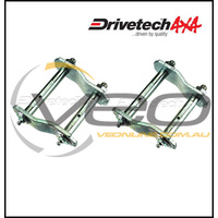 MITSUBISHI TRITON MK 2.4L 10/96-6/06 DRIVETECH 4X4 REAR GREASABLE SHACKLES