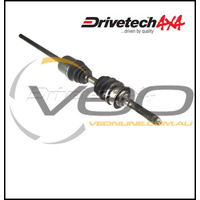 HOLDEN JACKAROO UBS21 2.2L 4WD 11/81-83 DRIVETECH 4X4 LEFT DRIVESHAFT ASSEMBLY