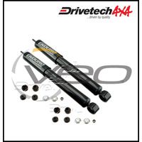 DAEWOO MUSSO B19S 3.2L IL6 4WD 8/98-4/03 REAR DRIVETECH 4X4 ENDURO GAS SHOCKS