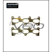 PLATINUM EXHAUST MANIFOLD GASKET FITS HYUNDAI TUCSON JM 2.7L G6BA V6 8/04-3/07