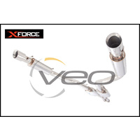 "3"" XFORCE STAINLESS STEEL CATBACK EXHAUST SYSTEM WITH VAREX FITS CHRYSLER 300C 6.4L 2012-ON"