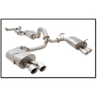 "FORD FALCON FG GS/GT FPV SEDAN XFORCE S/STEEL QUAD 3"" CATBACK EXHAUST"