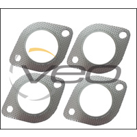 "4 X EXHAUST FLANGE GASKET 3"" (76MM) 106MM BOLT HOLE CENTRES TO SUIT COMMODORE"