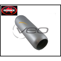 "REDBACK PERFERATED HOTDOG 1 3/4"" 44MM IN/OUT X 9"" LONG"