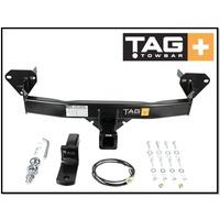 TAG + TOWBAR KIT (1800KG) FITS SUBARU FORESTER SJ 1/2012-12/2018