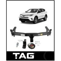 TAG + TOWBAR KIT (1500KG) FITS TOYOTA RAV4 ZSA42R 12/2012-12/2018