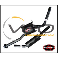 "HOLDEN COMMODORE VT VX VY V6 SEDAN REDBACK 2 1/2"" CATBACK SYSTEM WITH MUFFLER"