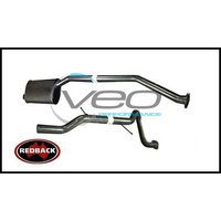 "FORD FALCON AU 6CYL 4.0L UTE REDBACK 2 1/2"" CAT BACK EXHAUST WITH TAILPIPE"