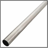 """2 1/2"""" INCH (63MM) 304 GRADE STAINLESS STEEL EXHAUST PIPE TUBE 1 METRE"""