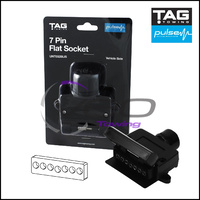 TAG PULSE 7 PIN FLAT SOCKET