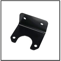 90 DEGREE ANGLE PLUG BRACKET TO SUIT SMALL ROUND PLASTIC PLUG