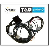 DIRECT FIT TOWBAR WIRING HARNESS FITS TOYOTA HILUX GUN123R 5/15-12/17