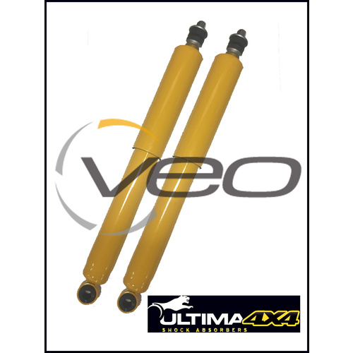 ULTIMA 4X4 NITRO GAS HEAVY DUTY FRONT RAISED SHOCKS FITS TOYOTA HILUX LN106R